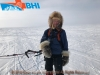 Brent Boddy .. Cambridge Bay kiting guru !!