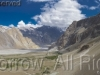 Clouds over Thapopdan massif, above village of Passu, Hunza Valley, Karakoram range, Pakistan